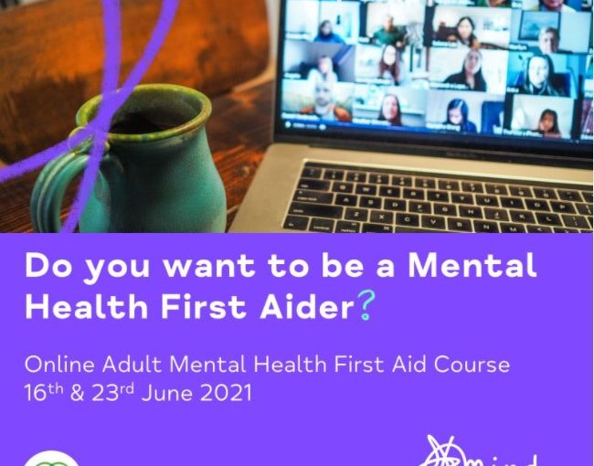 Do you want to be a Mental Health First Aider?